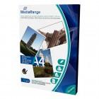 Φωτογραφικό Χαρτί MediaRange για Inkjet Εκτυπωτές Α4 Dual-side High-Glossy 160g/m²  50 Φύλλα (MRINK108)