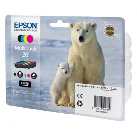 Epson Μελάνι Inkjet No.26 Multipack (C13T26164010) (EPST261640)