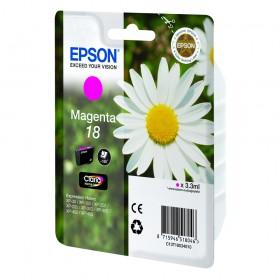 Epson Μελάνι Inkjet No.18 Magenta (C13T18034012) (EPST180340)