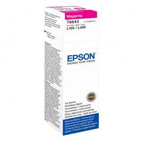 Epson Μελάνι Inkjet Bottle Magenta (C13T66434A) (EPST66434A)