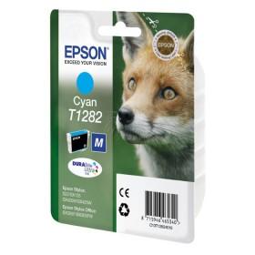 Epson Μελάνι Inkjet T1282 Cyan (C13T12824012) (EPST128240)