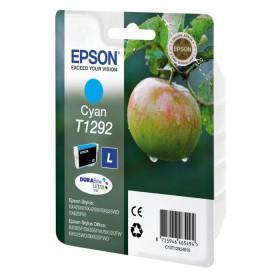 Epson Μελάνι Inkjet T1292 Cyan (C13T12924012) (EPST129240)