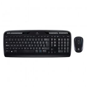 Logitech MK330 Desktop Combo GR (Black, Wireless) (LOGMK330)