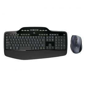 Logitech MK710 Combo Mouse/Keyboard EN-US (Black, Wireless) (LOGMK710)