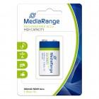 Επαναφορτιζόμενη Μπαταρία MediaRange High Cap. NiMH Accus E-Block HR22 9V (6HR61) (MRBAT124)