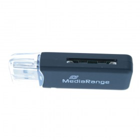 MediaRange USB 2.0 Card Reader Stick (Black) (MRCS506)