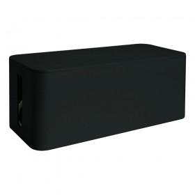 Media Range Cable Tidy Box Medium-Sized 318x126x135 mm Black (MRCS307)