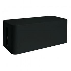 Media Range Cable Tidy Box Big-Sized 405x133x155 mm Black (MRCS308)