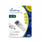 MediaRange USB 3.0 Combo Flash Drive with Apple Lightning plug 16GB (MR981)
