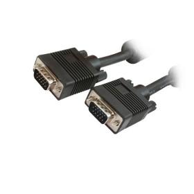 Καλώδιο MediaRange SVGA Monitor VGA/VGA 25.0M Black (MRCS126)