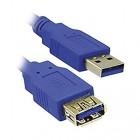 Καλώδιο MediaRange USB 3.0 Extension AM/AF 3.0M Blue (MRCS145)