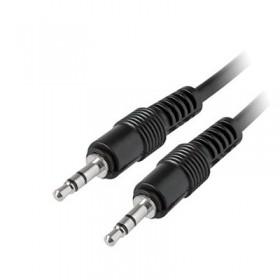 Καλώδιο MediaRange Audio Jack plug 3.5mm/Jack plug 3.5mm 1.0M Black (MRCS140)