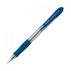Στυλό Διαρκείας PILOT BP Super Grip 1.0 mm (Μπλε) (2030003) (PIL2030003MBL)