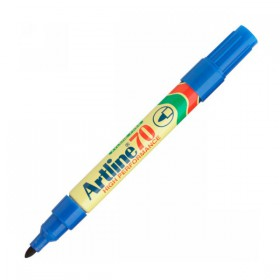 Μαρκαδόρος Ανεξίτηλος ARTLINE 70  Μύτη Στρογγυλή 1.5 mm (Μπλέ) (ART70153)