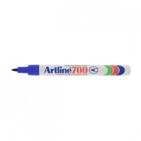 Μαρκαδόρος Ανεξίτηλος ARTLINE 700  Μύτη Στρογγυλή 0.7 mm (Μπλέ) (ART700073)