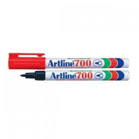Μαρκαδόρος Ανεξίτηλος ARTLINE 700  Μύτη Στρογγυλή 0.7 mm (Κόκκινο) (ART700072)