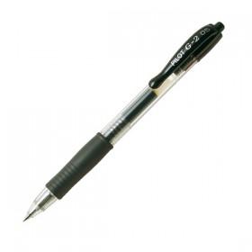 Στυλό GEL PILOT G-2 0.7 mm (Μαύρο) (2605001) (PILBLG27BK)