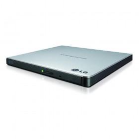 H-L DS External DVD-RW Recorder Slim Silver (GP57ES40.AHLE10B)