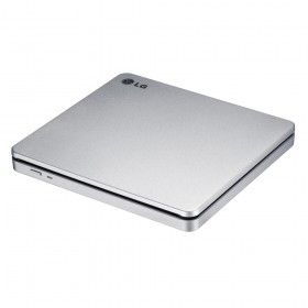 H-L DS External DVD-RW Recorder Slim Slot-in Silver (GP70NS50.AHLE10B)