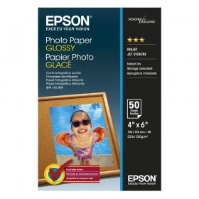 Φωτογραφικό Χαρτί EPSON Glossy 10x15cm 200 gr. 50 Φύλλα (C13S042547) (EPSS042547)