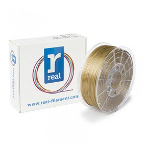REAL PLA 3D Printer Filament - Satin Shine - spool of 0.5Kg – 2.85mm (REFPLASATINSHINE750MM285)