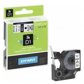 Ταινία Ετικετογράφου DYMO D1 45013 12mmx7m Black on White (DYMO45013)