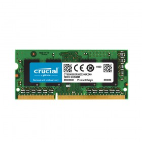 Crucial RAM 8GB DDR3L-1600 SODIMM (CT102464BF160B) (CRUCT102464BF160B)