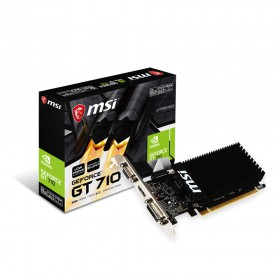 MSI Κάρτα VGA GT710 2GD3H LP (V809-2000R) (MSIV809-2000R)