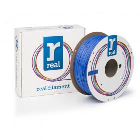 REAL RealFlex 3D Printer Filament - Blue - spool of 1Kg - 1.75mm