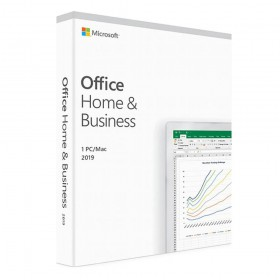 Microsoft Office Home and Business 2019 English Medialess P6 (T5D-03216) (T5D-03308)
