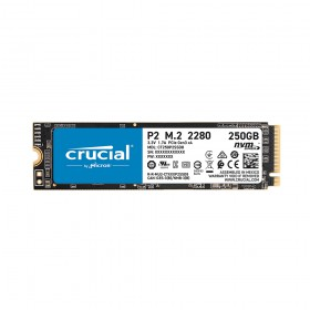 Crucial SSD P2 250GB 3D NAND NVME PCIe M.2  (CT250P2SSD8) (CRUCT250P2SSD8)