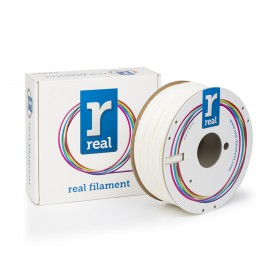 REAL ABS 3D Printer Filament - White - spool of 1Kg - 2.85mm (REFABSWHITE1000MM3)