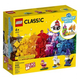 Lego Classic: Creative Transparent Bricks (11013) (LGO11013)