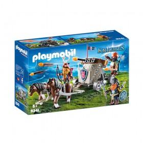 Playmobil Knights: Άμαξα με Πόνυ και Νάνους με Βαλίστρα (9341) (PLY9341)