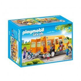 Playmobil City Life: Σχολικό Λεωφορείο (9419) (PLY9419)