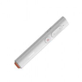 Baseus Τηλεχειριστήριο Παρουσιάσεων Ασύρματο με Laser White (ACFYB-A02) (BASACFYBA02)