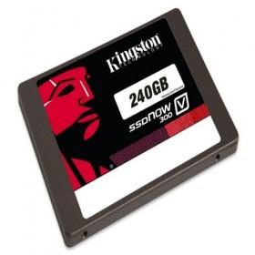 SSD Now Kingston V300 240GB SATA 3 2.5 (7mm height) w/Adapter- Kingston