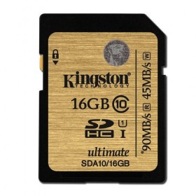 SDXC Flash Card Kingston 16GB Class 10 UHS-I Ultimate - Kingston