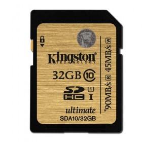 SDXC Flash Card Kingston 32GB Class 10 UHS-I Ultimate - Kingston