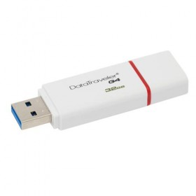 USB 3.0 Kingston 32GB DataTraveler I G4 (Red)- Kingston