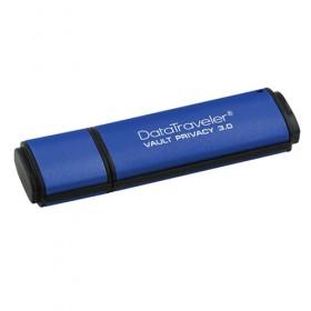 USB3.0 Kingston 64GB DTVP30, 256bit AES Encrypted- Kingston