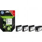 Cartridge HP Inkjet No 950XL  / amp; No 951XL Combo pack (Black, Cyan, Magenta, Yellow)- HP