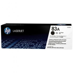 Cartridge HP Laser No 83A Black CF283A -