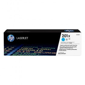 Cartridge HP Laser No 201X High Capacity Cyan (2.3k) CF401X -