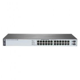 Switch HP 1820-24G-PoE+ (185W), Smart-managed Rackmount, 2 SFPs 100/1000, Limited lifetime Warranty 2.0- HP