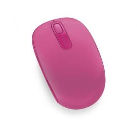 Mouse Microsoft Wireless Mobile 1850 Pink- Microsoft