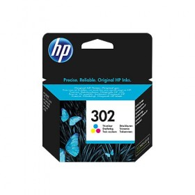 Cartridge HP Inkjet No 302 Tri-colour- HP