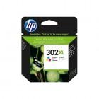 Cartridge HP Inkjet No 302XL High Yield Tri-color - HP