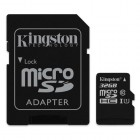 microSDXC Kingston 32GB UHS-I Class 10 Read Card + SD Adapter- Kingston