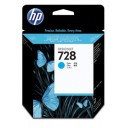 Cartridge HP Inkjet No 728 40ml Cyan-